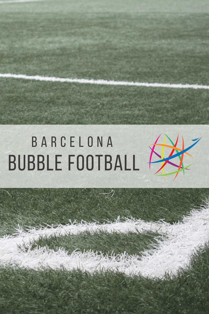 Barcelona Bubble Football Pitch