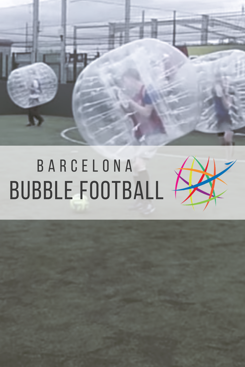 Barcelona Bubble Football Fun