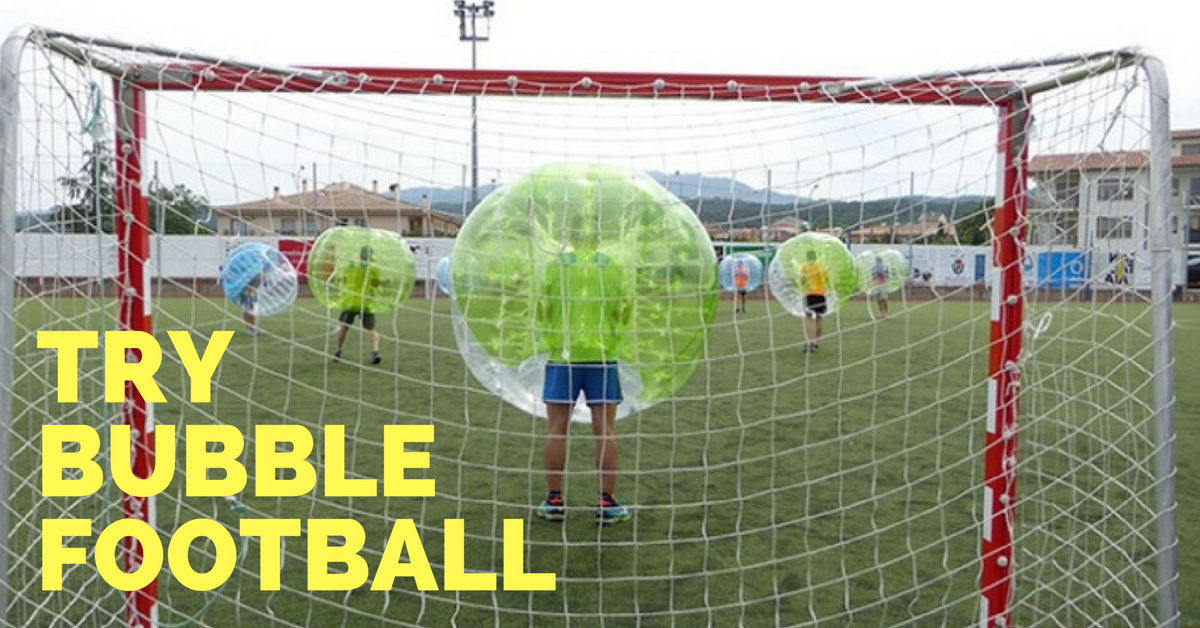 Try Barcelona Bubble Football