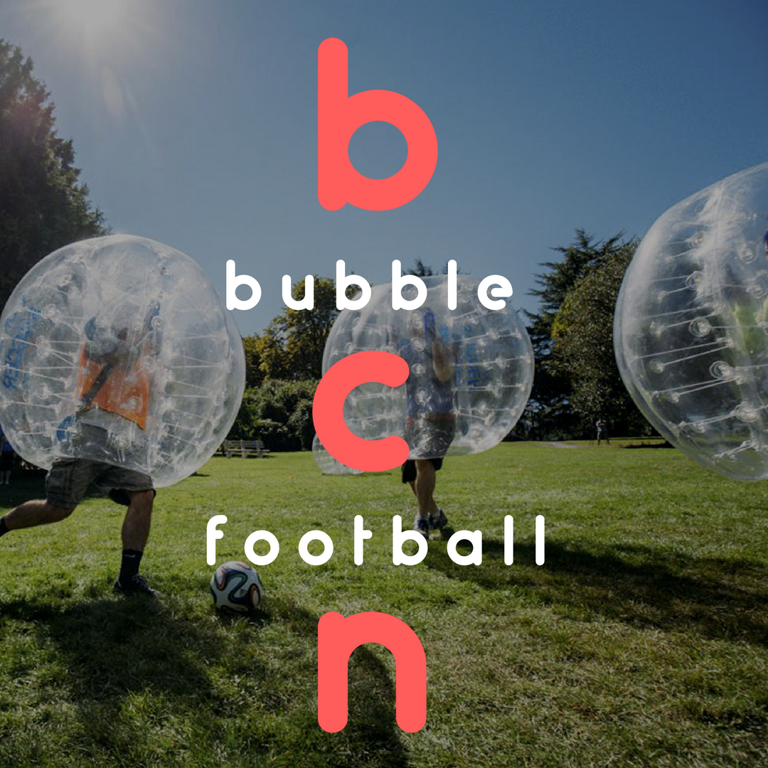 Barcelona Bubble Football Experience