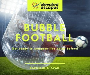 Barcelona Bubble Football