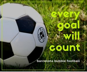 Barcelona Bubble Football