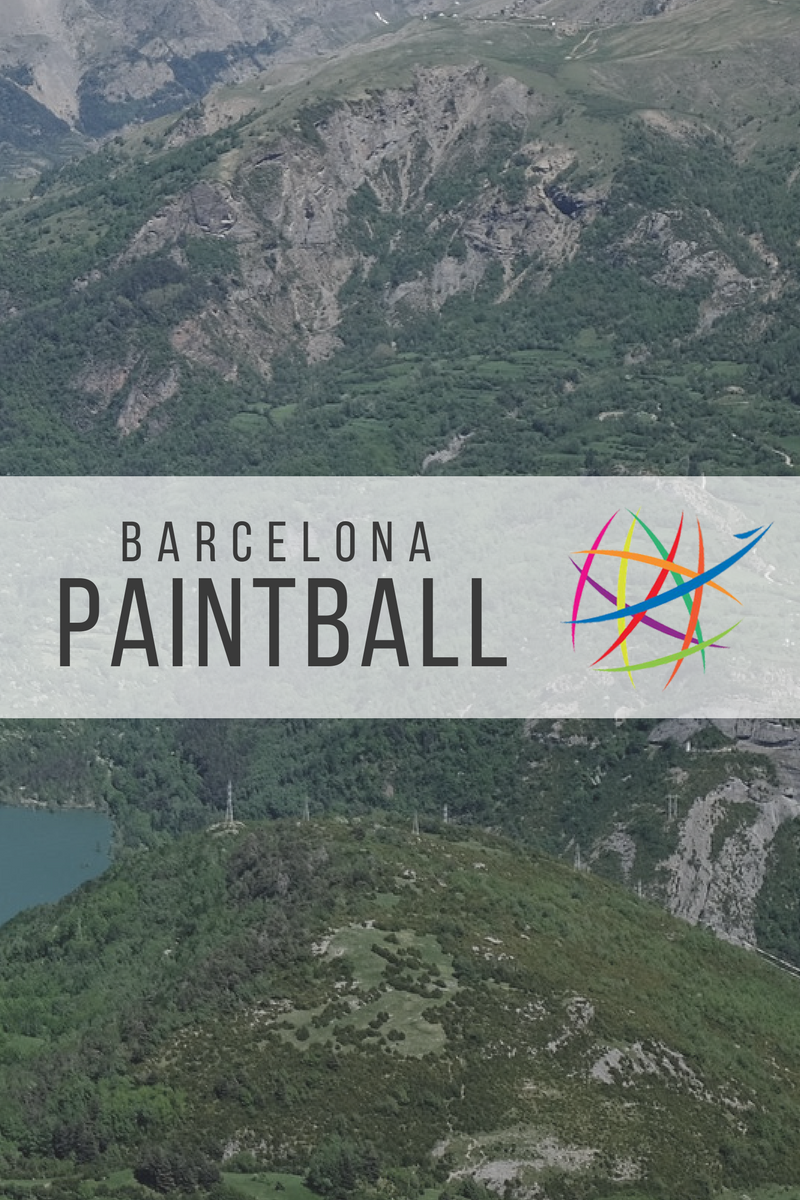 Barcelona Paintball Location