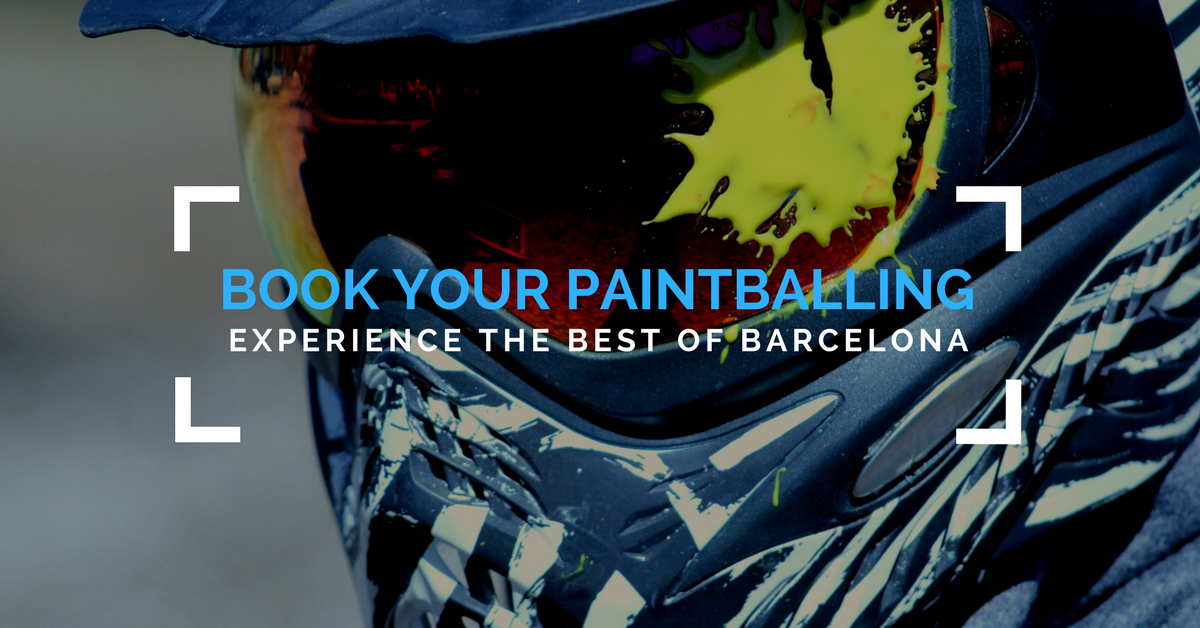 Book Your Barcelona Paintball