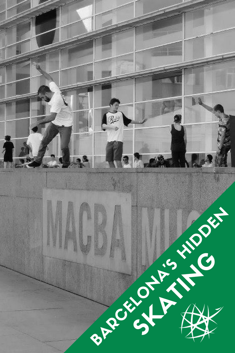 Barcelona's Hidden Skateboarding