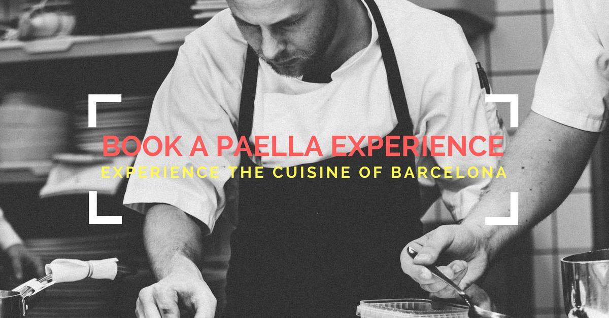 Book Barcelona Paella Experience