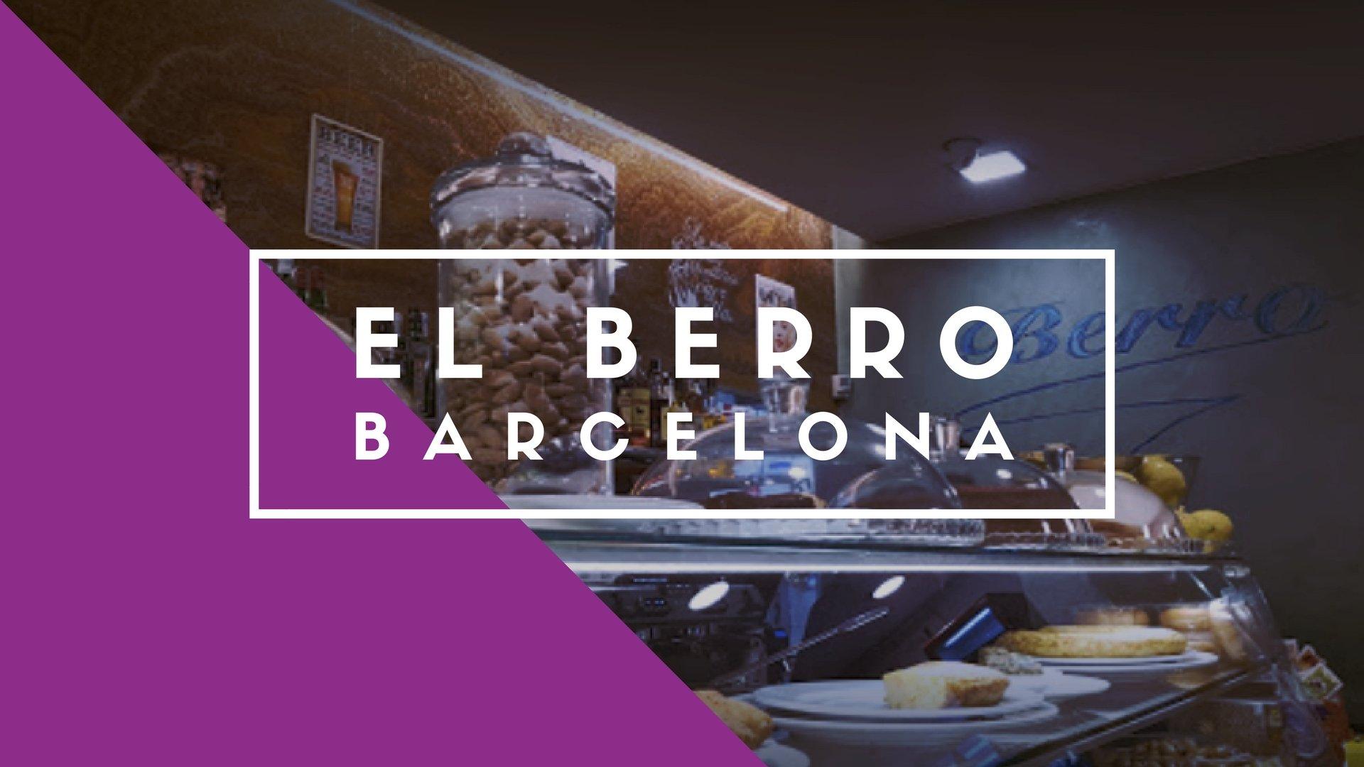 El Berro, Barcelona