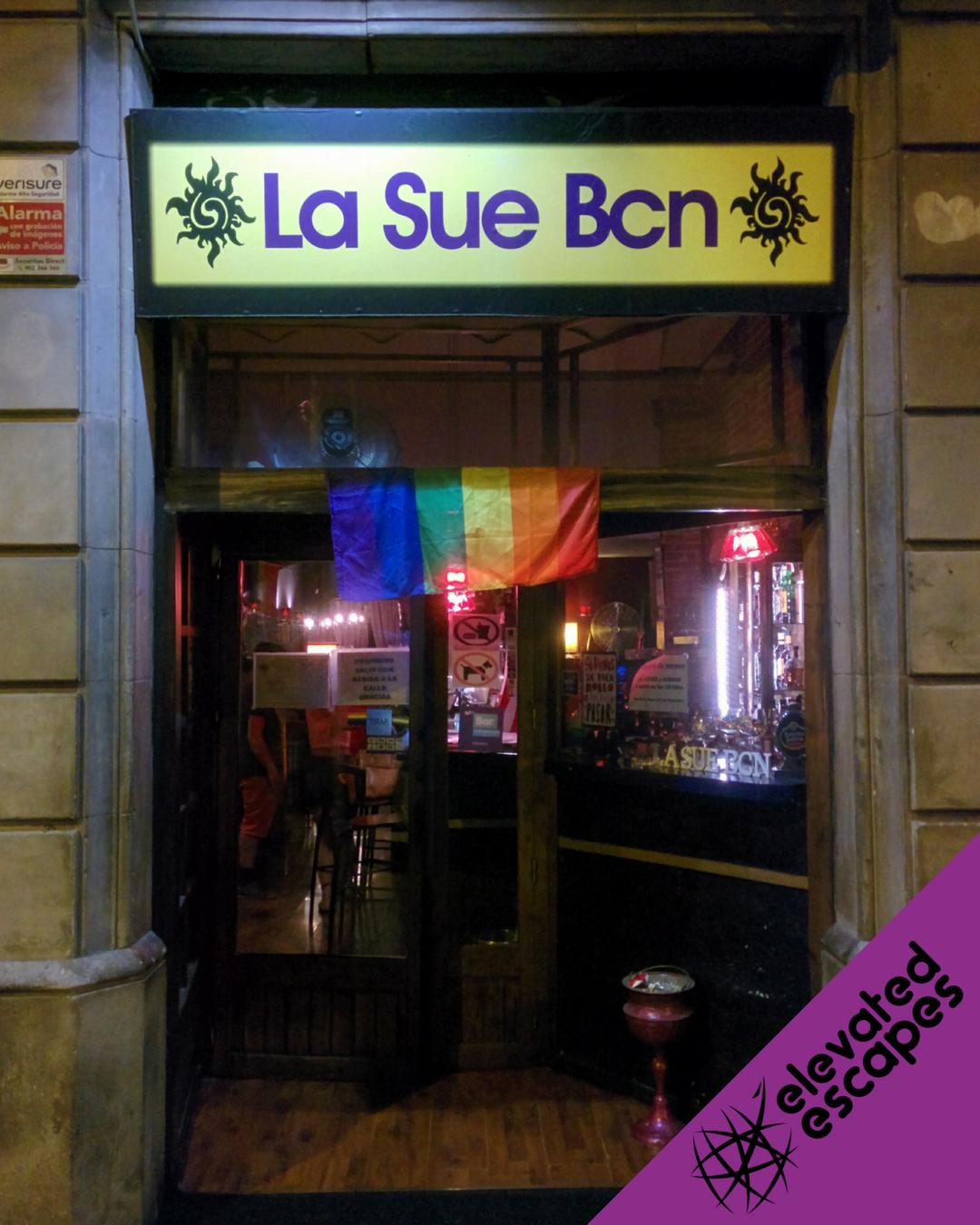 La Sue BCN Entrance