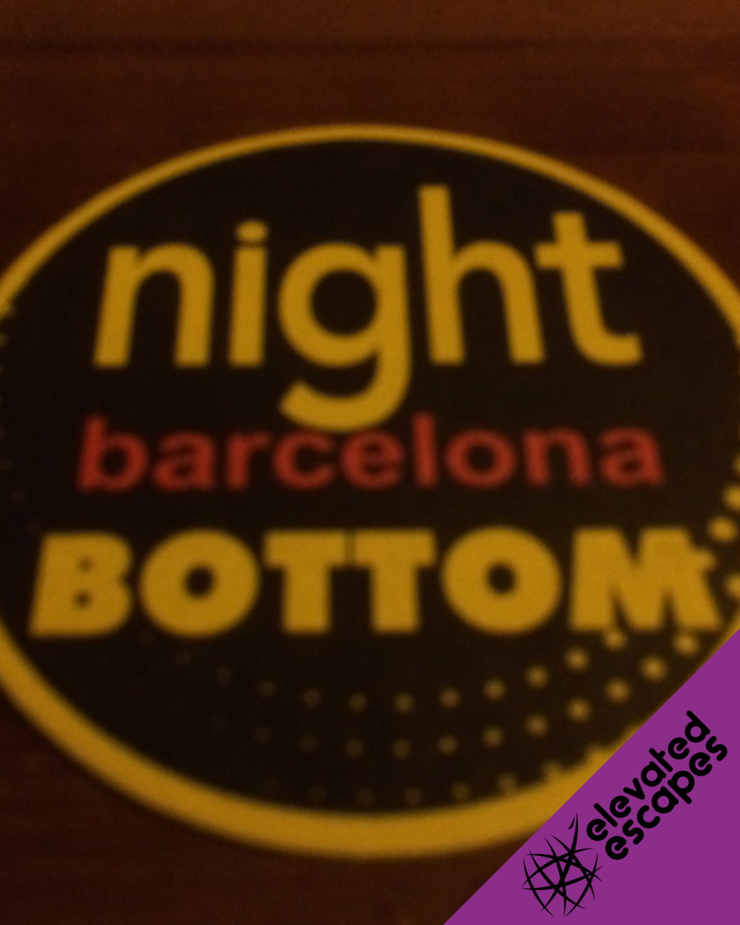 Night Barcelona Bottom