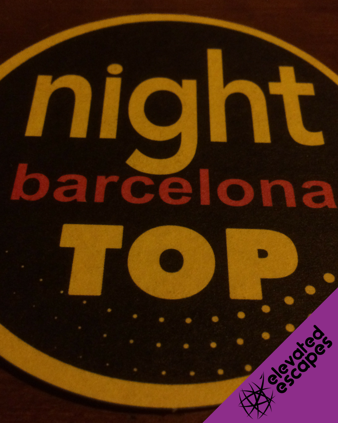 Night Barcelona Top