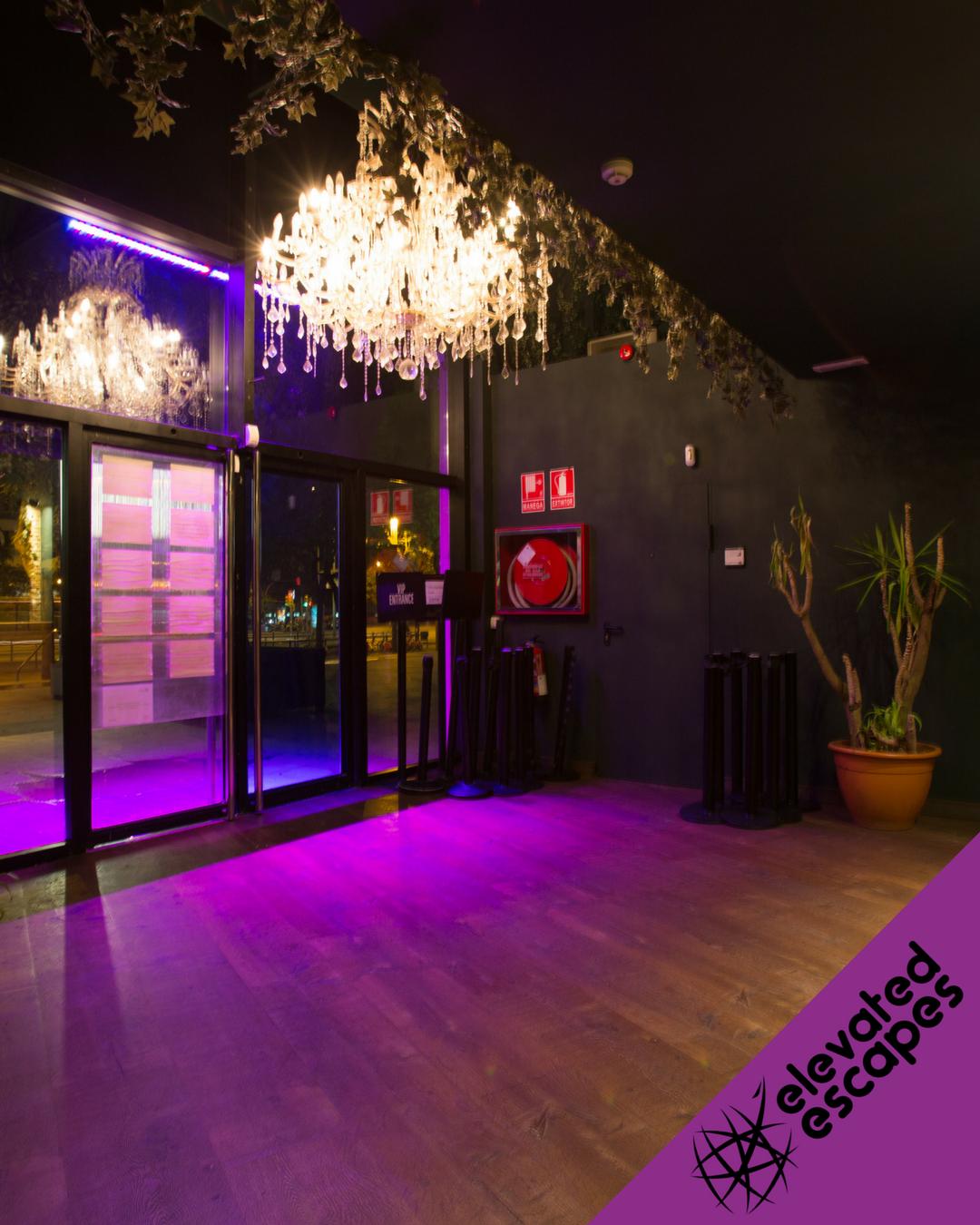 Safari Disco Club Entrance