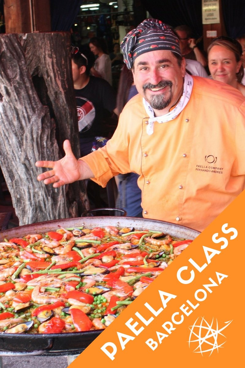 Best Paella Cooking Class Barcelona