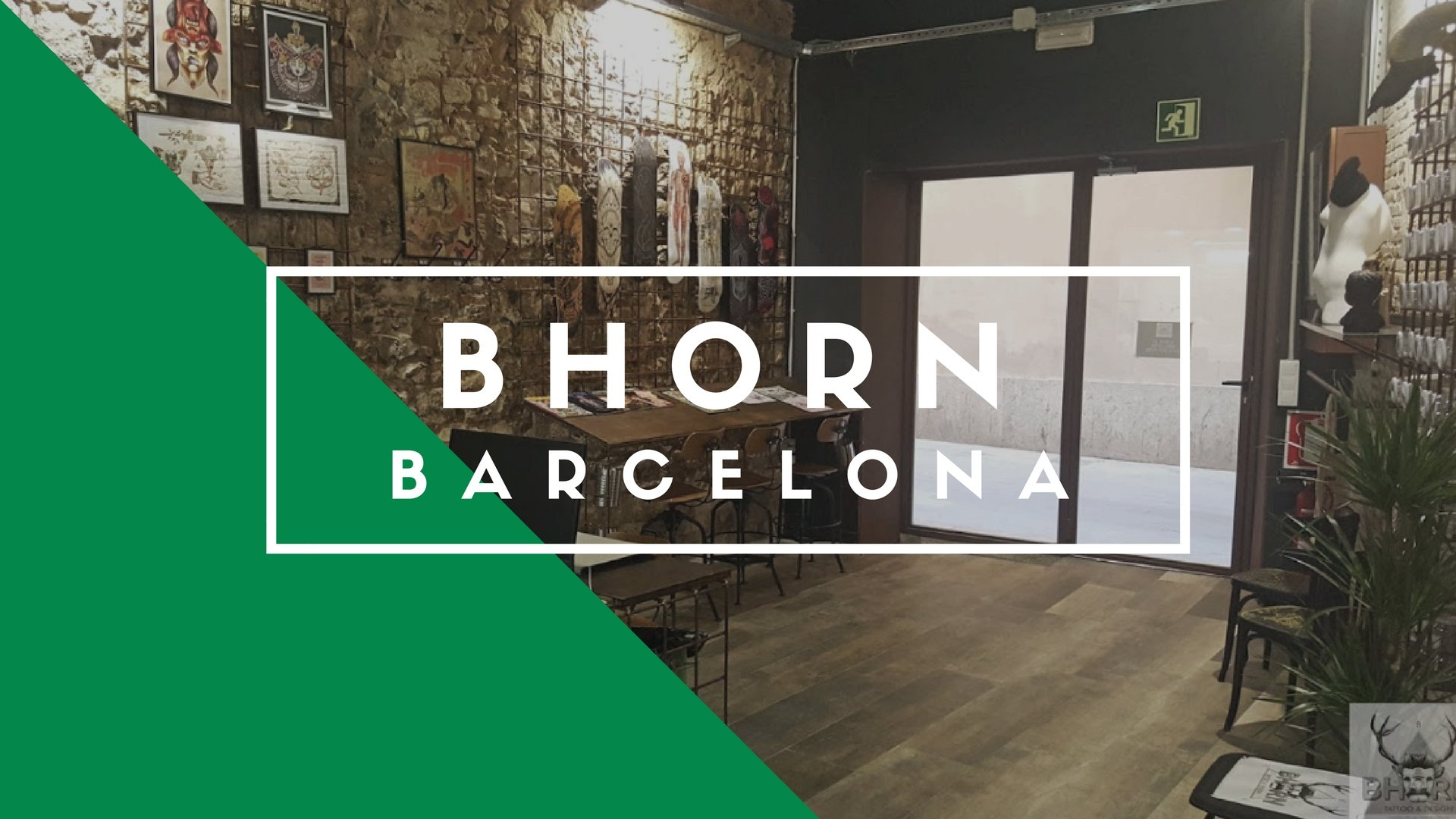 Bhorn Tattoo & Design, Barcelona