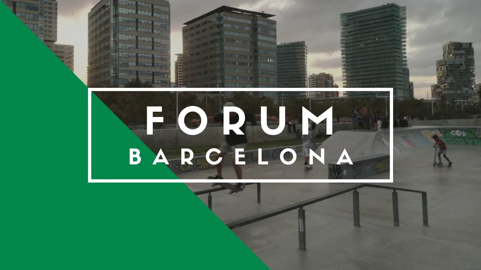 Forum Skatepark, Barcelona