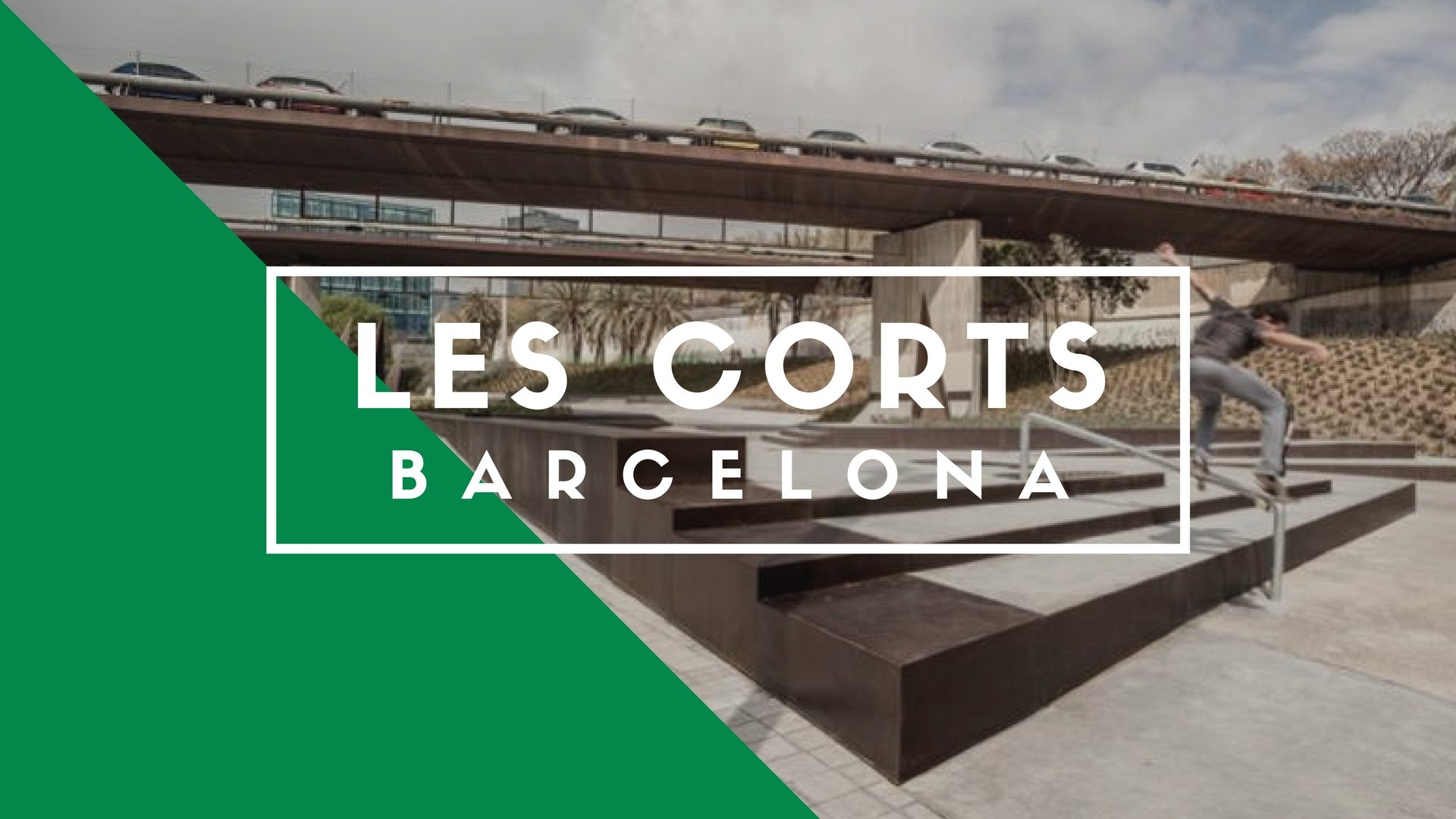 Les Corts Skatepark, Barcelona