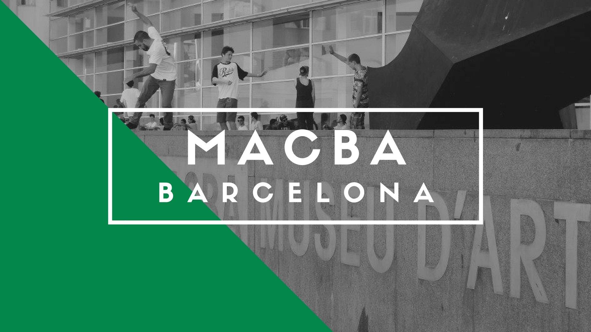 MACBA Skate Spot, Barcelona