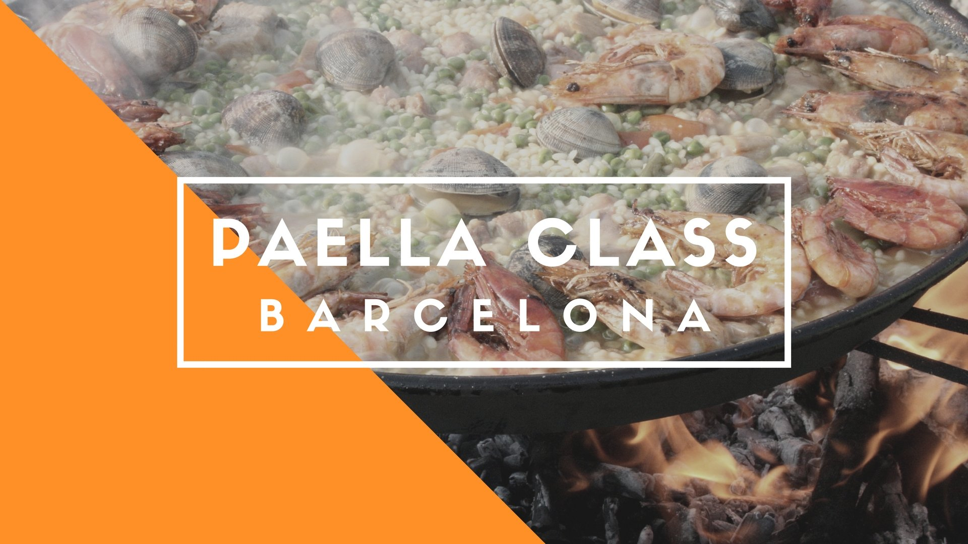 Paella Cooking Class Barcelona