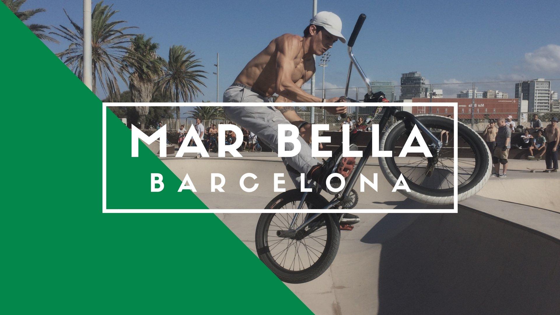 Skatepark Mar Bella, Barcelona