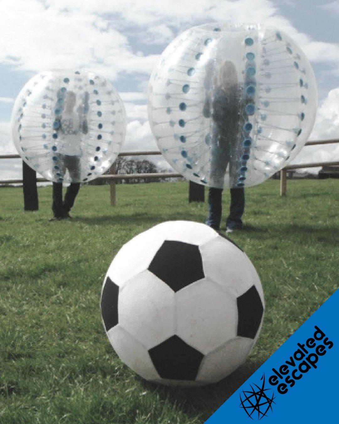 Bubble Football Barcelona Match