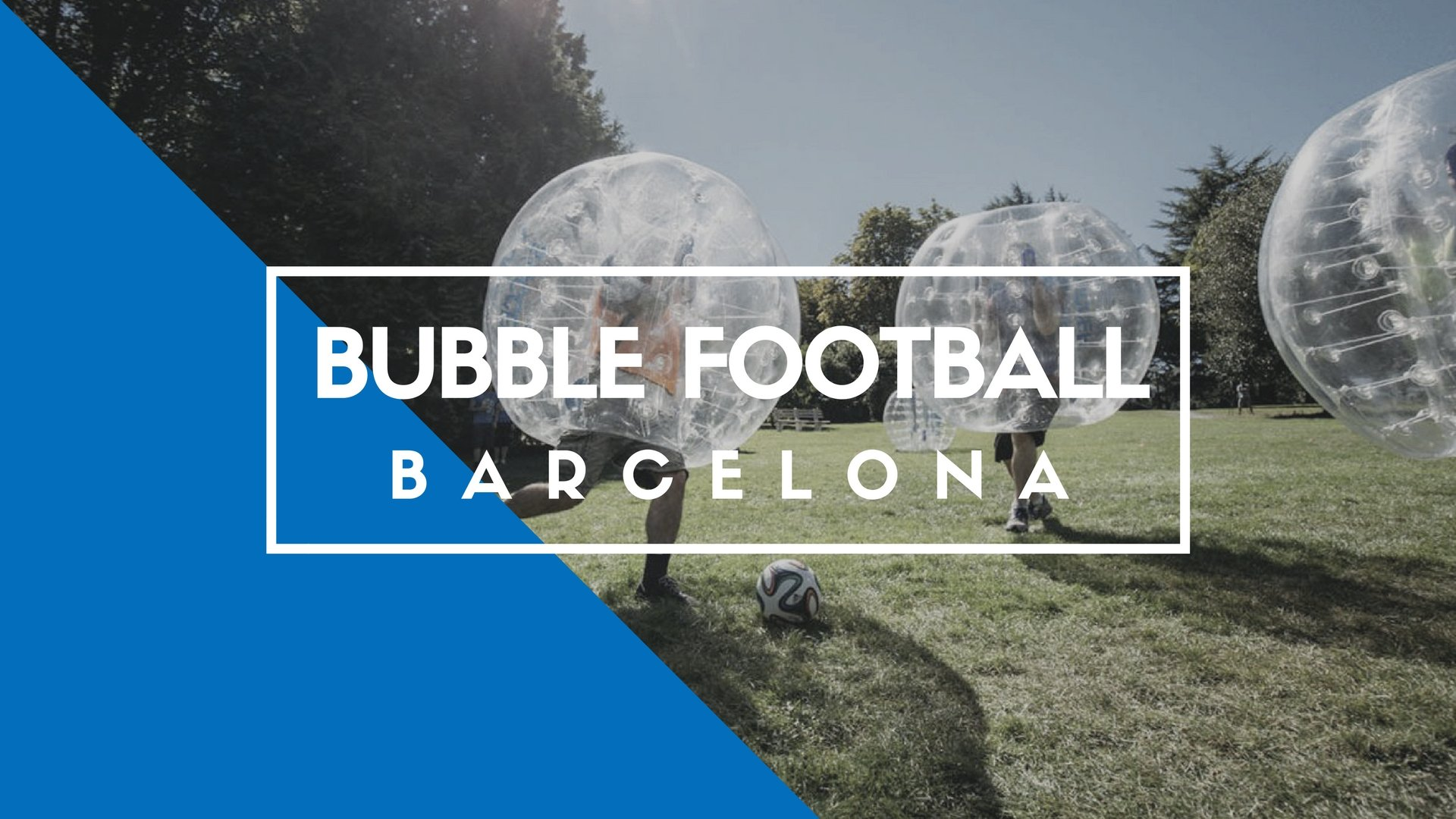 Bubble Football Barcelona