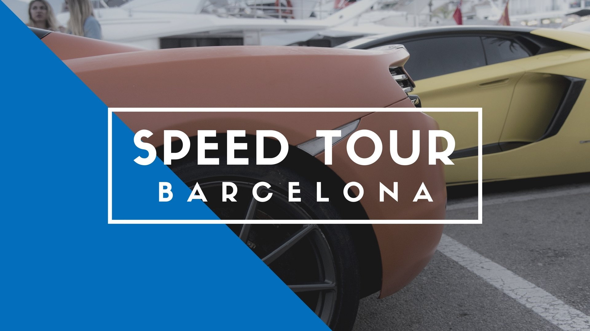 Speed Tour Barcelona